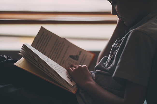 小説を読む